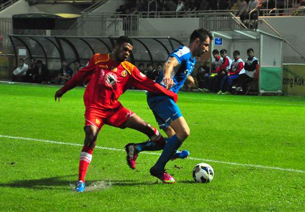 Semen Padang FC Sudahi Euforia Di Hong Kong