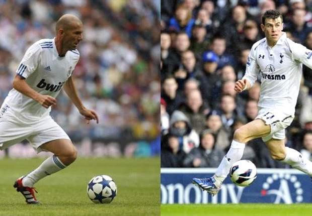 Zinedine Zidane: Gareth Bale ha sido el jugador que más me ha impresionado este año