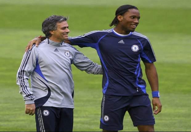Bald wieder vereint? Didier Drogba und Jose Mourinho
