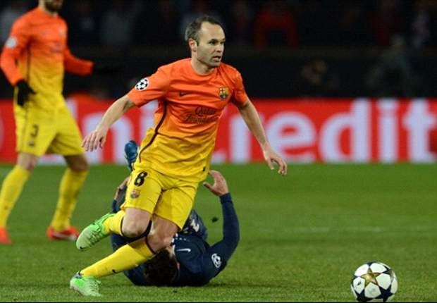 """Iniesta: """"Man darf jetzt nicht alles in den Müll werfen"""""""