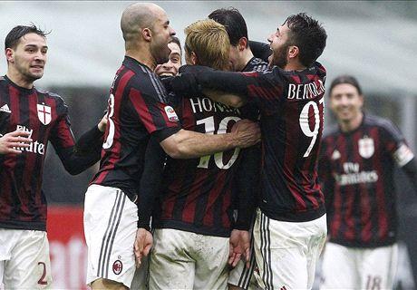Bacca-Honda, il Milan riparte: Genoa ko