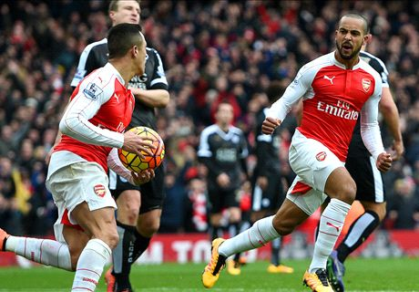 Arsenal wint kraker in absolute slotfase
