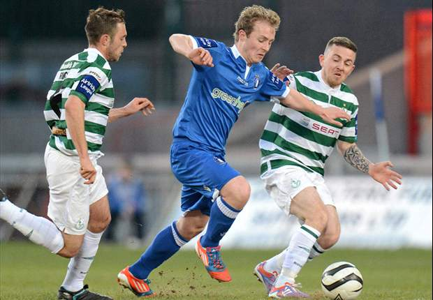 Limerick 1-1 Shamrock Rovers - Super Blues take a point against 10 man Rovers