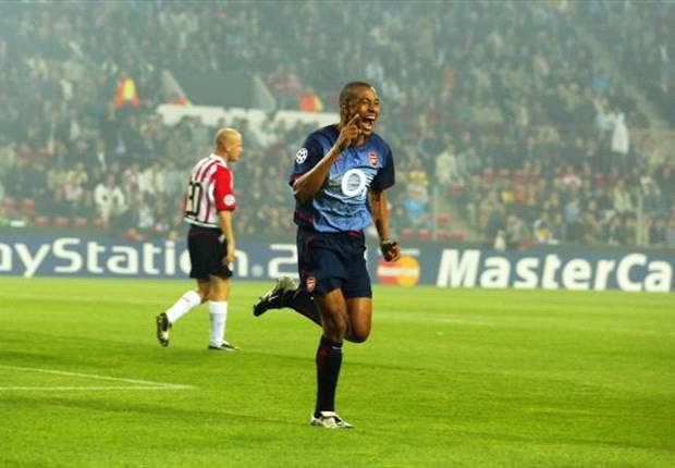Gilberto Silva ai tempi dell'Arsenal