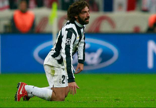 Pirlo: Juventus must believe in comeback