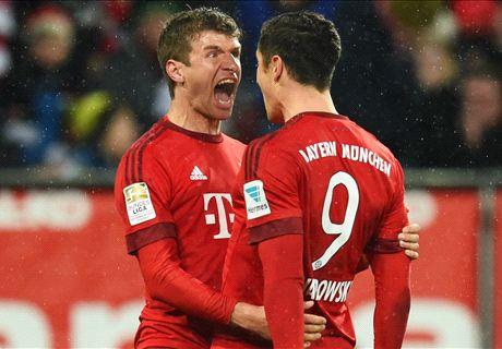 RATINGS: Augsburg 1-3 Bayern Munich
