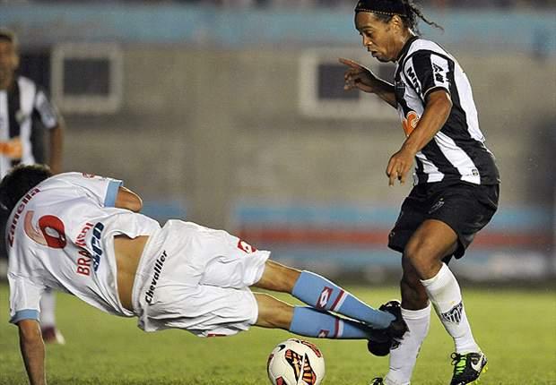Braghieri, Ronaldinho y la jugada en cuestión