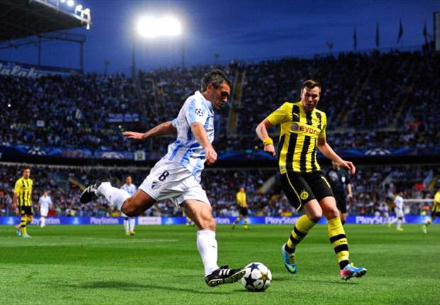 Malaga 0-0 Borussia Dortmund: Gotze guilty as visitors rue missed chances