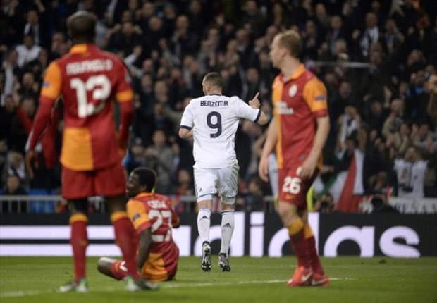 Real Madrid 3-0 Galatasaray: El tridente Ronaldo-Benzema-Higuaín enjaula a los Leones