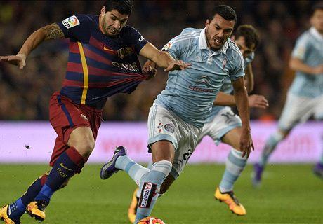 LIVE: Barcelona 4-1 Celta Vigo