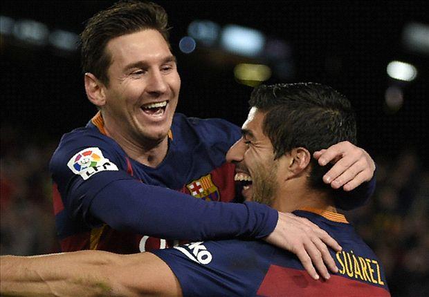 Barcelona 6-1 Celta: Suarez nets hat-trick as MSN combine in comfortable win