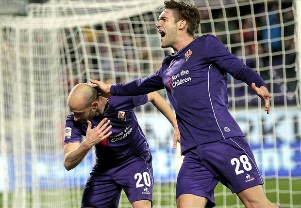 Fiorentina 2-1 Inter: Super-sub Babacar scores injury-time winner