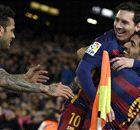 Suarez hits hat-trick in Barca rout