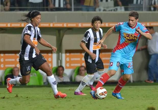 Atlético-MG 5 x 2 Arsenal-ARG: Sem Bernard, Galo repete goleada em casa