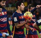 Suarez hits hat-trick in Barca rout