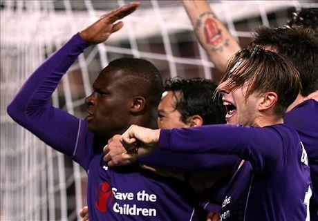 RATINGS: Fiorentina 2-1 Inter