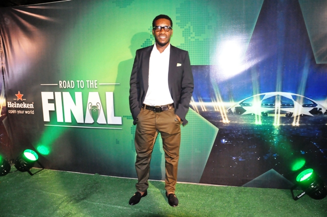 Jay Jay Okocha at Heineken Champions Planet