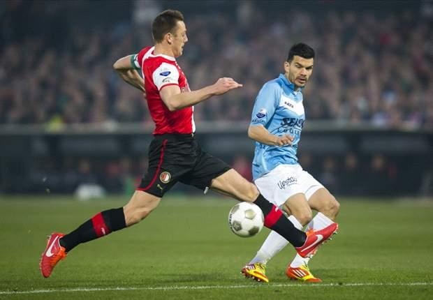 Pellè redt matig Feyenoord tegen VVV