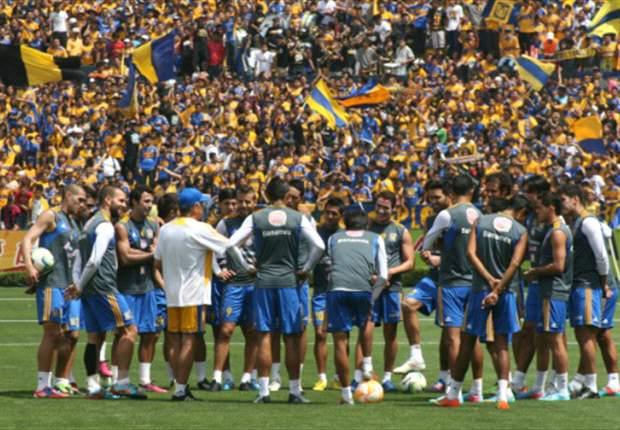 Más de 20 mil aficionados asisten a entrenamiento de Tigres