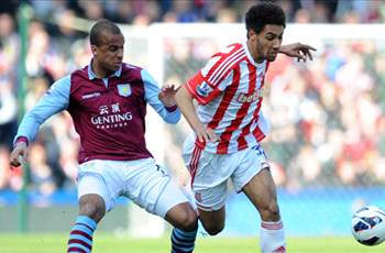 Stoke 1-3 Aston Villa: Potters scrapping for survival after Lowton stunner