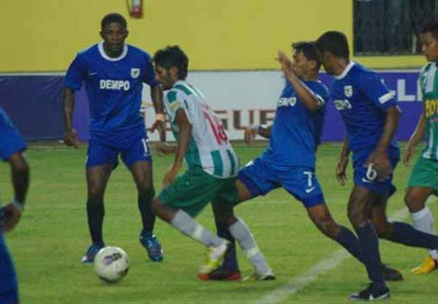 Dempo SC 0-2 Pailan Arrows: Armando Colaco's men lose five in a row now