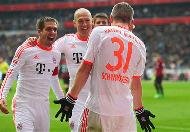Bayern are back where they belong at the top of German football