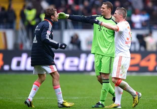 Manuel Neuer feiert mit dem FC Bayern München seine erste Meisterschaft