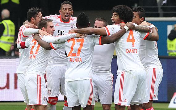 GALERÍA: La consagración de Bayern Munich