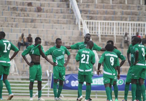Gor Mahia players in a past match