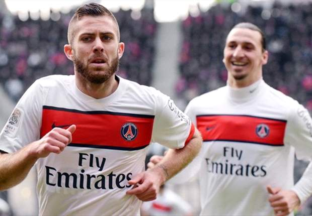 Rennes 0-2 Paris Saint-Germain: Menez & Ibrahimovic restores Ligue 1 leaders' seven-point advantage