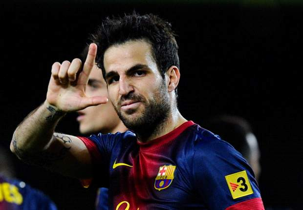 Wenger warns Manchester United: Fabregas will stay at Barcelona for 'one more year'