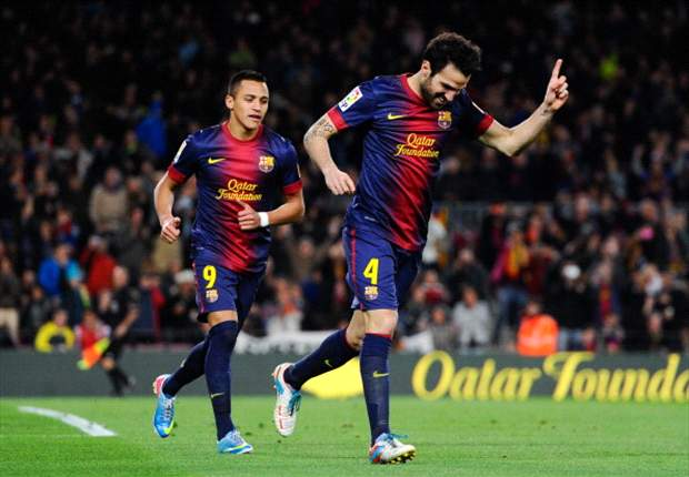 Barcelona 5-0 Mallorca: Masterclass from Fabregas as Blaugrana blow Manzano's men away