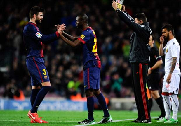 Abidal makes euphoric Barcelona return during Mallorca win