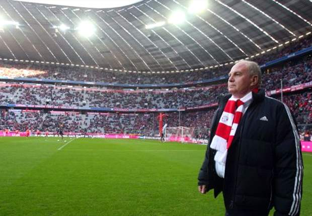 Hoeness to stay as Bayern Munich president despite tax problems