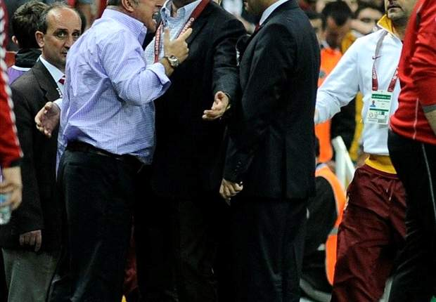 'Sending me off is a disgrace' - Terim