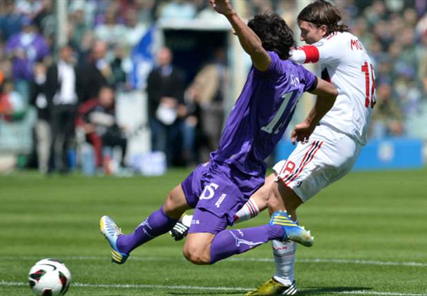 Fiorentina se despertó y le arrancó un punto al Milan