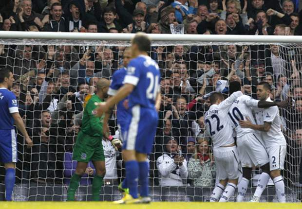 Tottenham 2-2 Everton: Late Sigurdsson strike spares Spurs blushes