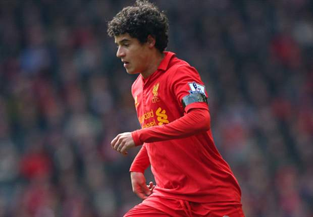 Rodgers hails Coutinho's impact at Liverpool