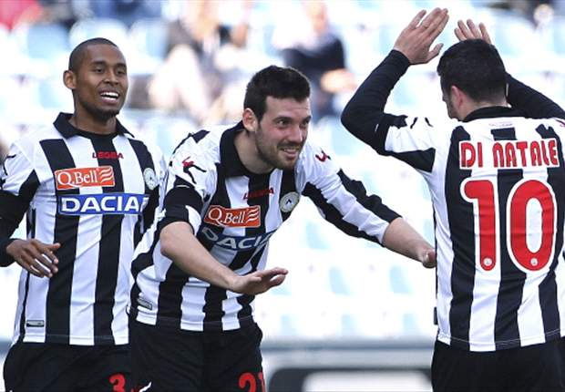 Serie A Round 31 Results: Di Natale hits landmark in Udinese victory, ...