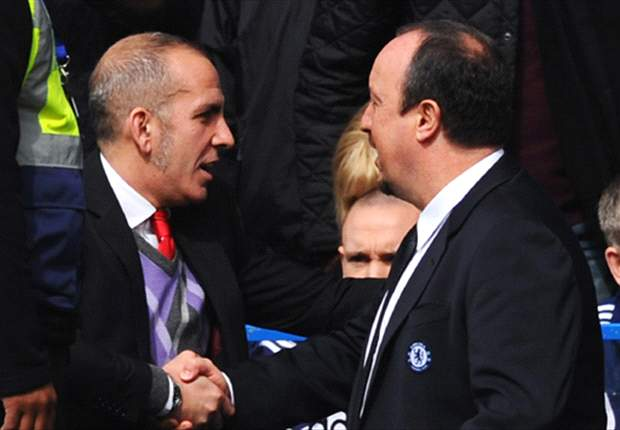 Chelsea boss Benitez pleased with change in atmosphere at Stamford Bridge