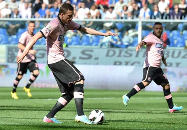 Sampdoria-Palermo 1-3: I rosanero non si fermano più, eurogoal Ilicic