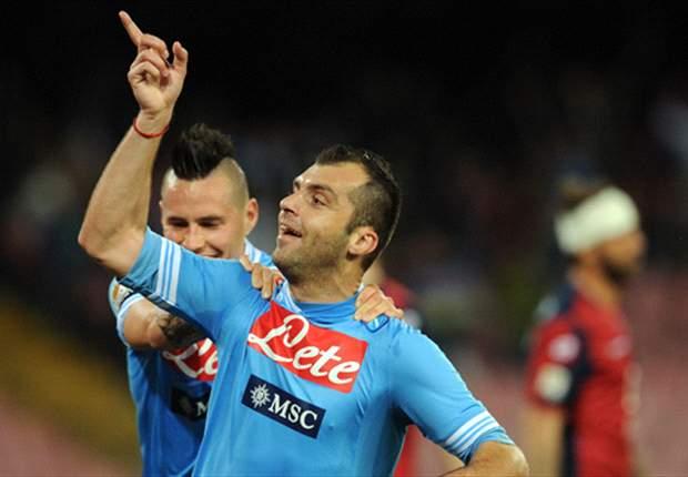 Napoli derrotó al Genoa y es segundo