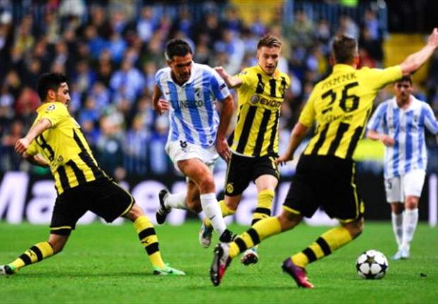 Borussia Dortmund-Malaga Betting Preview: Expect Pellegrini's men to provide staunch resistance