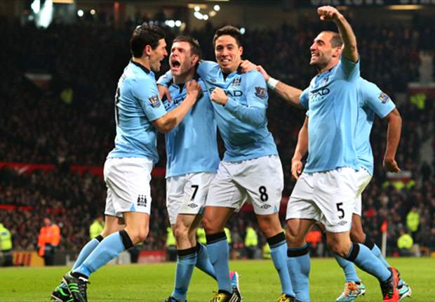 Manchester United 1-2 Manchester City: Late, great Aguero strike settles cagey derby
