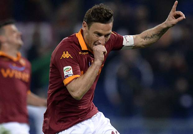 Totti rules out future PSG move