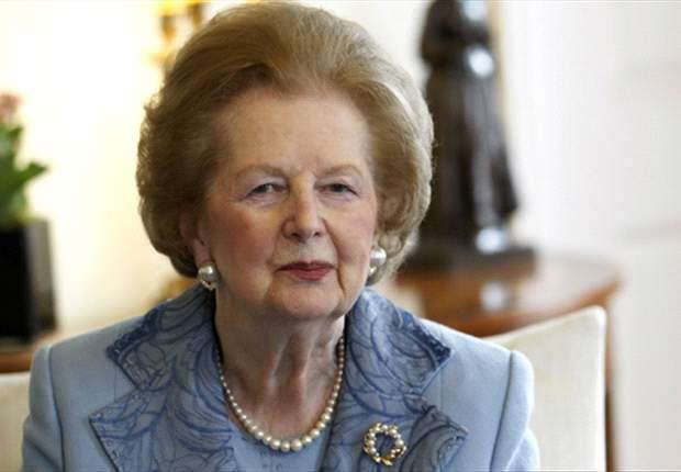 Klub Inggris Diimbau Kenang Margaret Thatcher
