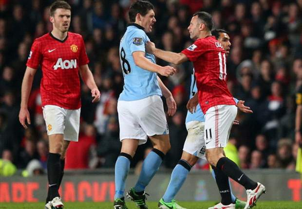 Manchester United's soft core was exposed again as the 'noisy neighbours' secured the bragging rights