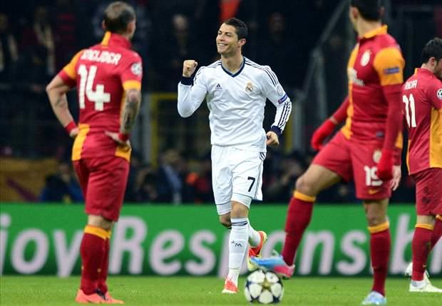 Real Madrid Lolos Dari 'Amukan' Galatasaray