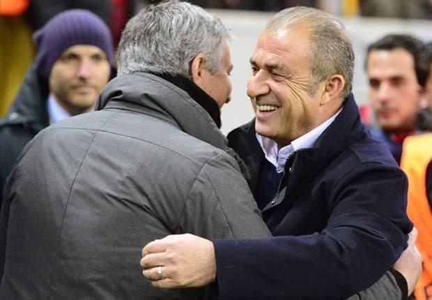 Terim geloofde in wonder, Mourinho boos