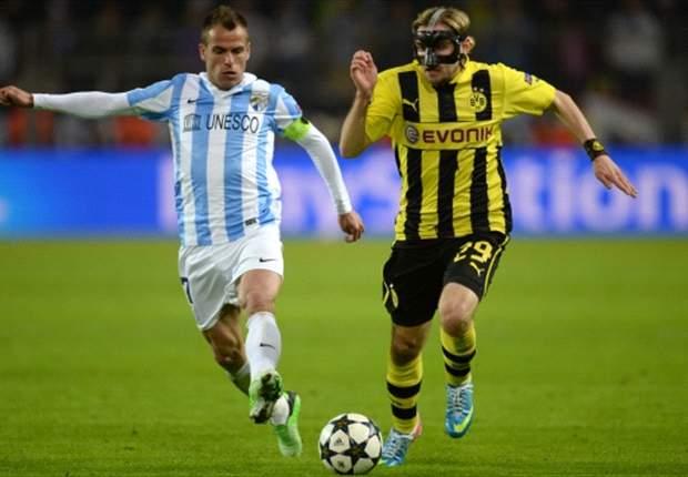 Borussia Dortmund 3-2 Málaga: El sueño se convierte en pesadilla en el descuento